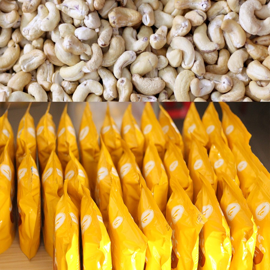 Salted - Roasted Cashew Nuts without skin (Best Seller) 500gr