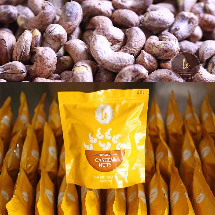 Salted - Roasted Cashew Nuts in shell (Best - seller) - 500gr