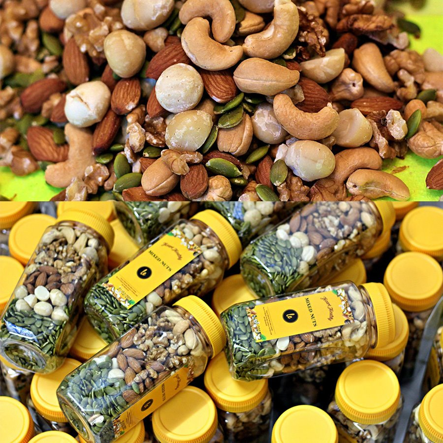 Mixed nuts 300gr ( 5 kinds of nuts)